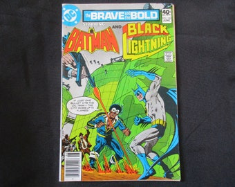 The Brave and The Bold #163 (Teams Up with Black Lightning) D.C. Comics  1980