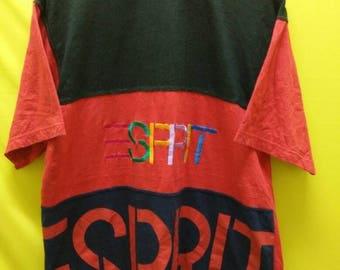 Vintage ESPRIT Big Logo T Shirt