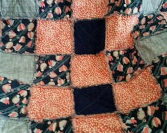 Baby girl quilt.