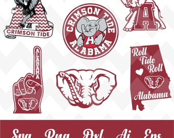 Alabama university svg,team,logo,svg,PNG,eps,dxf,cricut,silhouette,collegiate,ncaa,jersey,banner,proud,mom,wife,love,shirt,crimson tide,bama