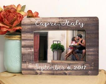 Honeymoon Frame| Honeymoon Gift| Newlywed Frame| Newlywed Gift| Vacation Frame| Wedding Frame