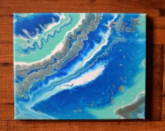 "Abstract Painting ""The Tides have turned"""