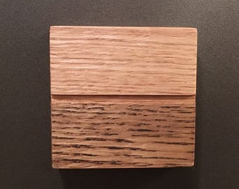 Dishwasher magnet, clean, dirty, clean/dirty, dirty/clean, handmade from almost discarded wood