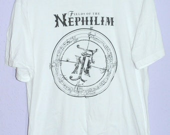 Vintage Fields Of The Nephilim Precious To The Lost 1988 UK Tour t-shirt (Large) the sisters of mercy the mission goth the cure bauhaus
