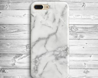 White Marble iPhone 7 Plus Case iPhone 6s Plastic Case iPhone SE Marble Case iPhone 7 Pastel Case Samsung Galaxy S6 S7 Edge Grey Marble Case