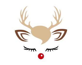 Digi-tizers Reindeer Face (SVG Studio V3 JPG)