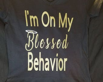 Blessed Behavior Tee