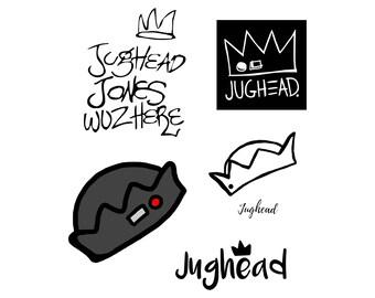 TV show svg Jughead svg Jughead hat svg Riverdale svg tv series svg Cutting Template Vector Clip Art Cricut Cameo Silhouette