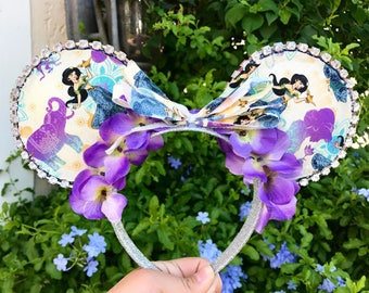 Jasmine Inspired Disney Mouse Ears - Aladdin