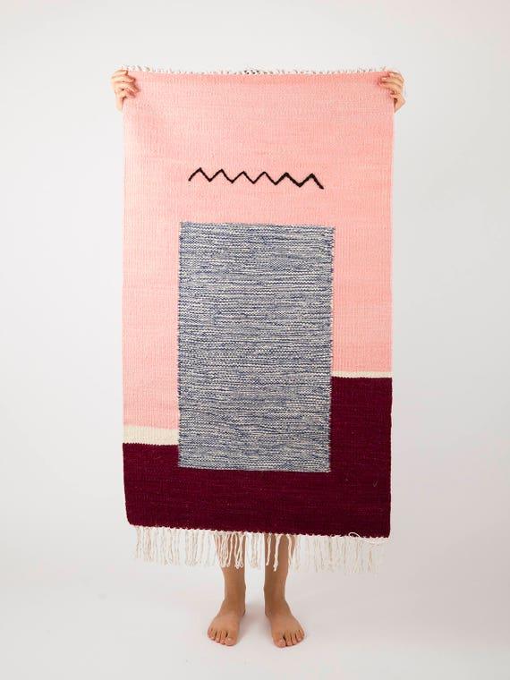 ZIG-ZAG | Handwoven kilim