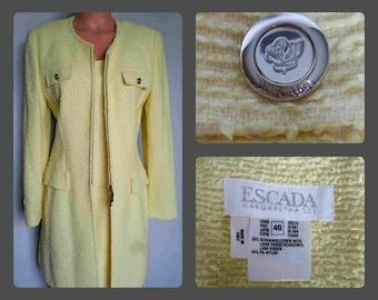 Vintage Escada Dress Set