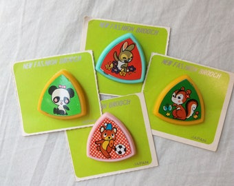 Vintage Japanese Broaches