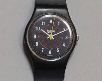 LB105 Nicholette - 1985 Vintage Swatch Watch