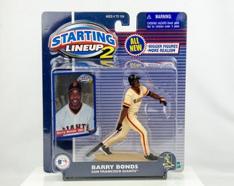 Starting Lineup 2 Baseball Barry Bonds Action Figure San Francisco Giants