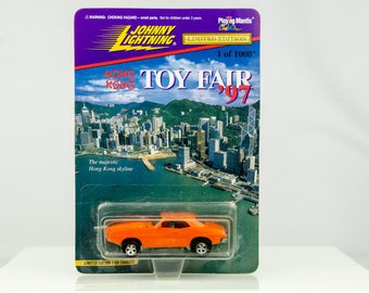 Johnny Lightning 1 of Only 1000 Hong Kong Toy Fair 1997 '97 1/64 Diecast Car