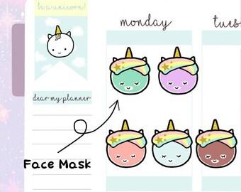 Petitcorn-Dearmyplanner-Face Mask Petitcorn (dm17-014)