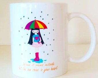 Cup original little Dreamers sc when It rains outside