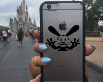 Oswald Decal, Disney Oswald Decal, Phone Cover, Oswald the Lucky Rabbit, Oswald the Lucky Rabbit Decal