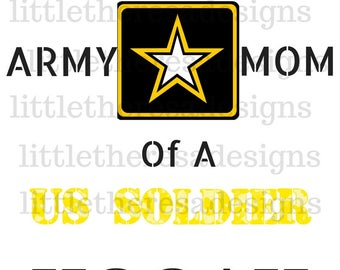 Proud Army Family Transfers,Digital Transfers,Digital Iron Ons,Diy