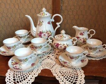 China Demitasse Tea Set from Japan