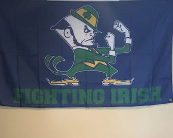 Notre Dame Wall Flag