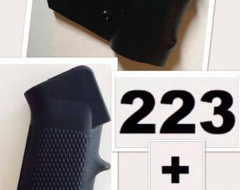 Featureless California Grip Fin AR A2 Grip Fin Wrap CA Legal Compliant  223 Free Shipping FREEDOM Fins Shark Fin