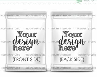 chip midnight templates - candy bag mockup etsy