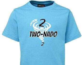 TWO NADO Kids BIRTHDAY T-Shirt