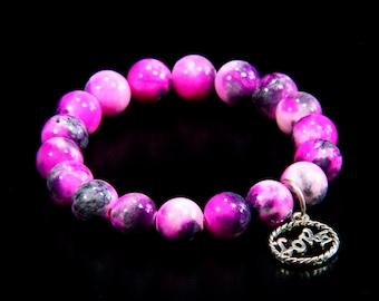 Colorful Jade Bracelet