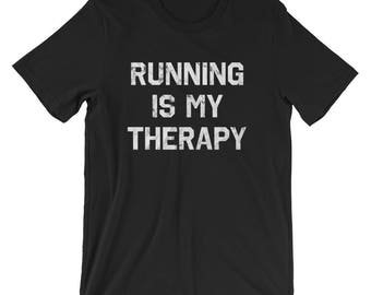 Running is My Therapy T-Shirt