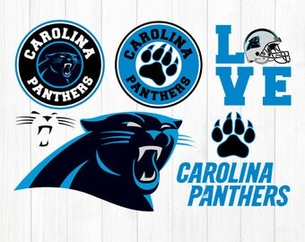 INSTANT DOWNLOAD - Carolina Panthers, Carolina Panthers Svg, Panthers Football, Carolina Panthers Clipart, Carolina Panthers Svg File