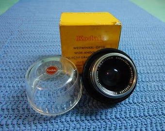 Kodak Retina Xenon 35mm Wide Angle Lens for Vintage Camera