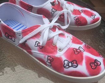 Bow Polka Dot Shoes