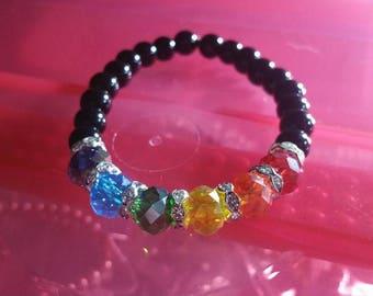 Rainbow Crystal Bracelet