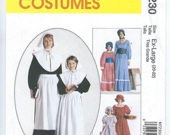 McCalls 7230 - MISSES Costume / ADULT XL (20-22)