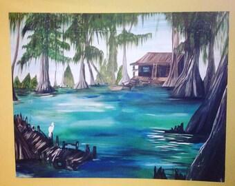Bayou painting