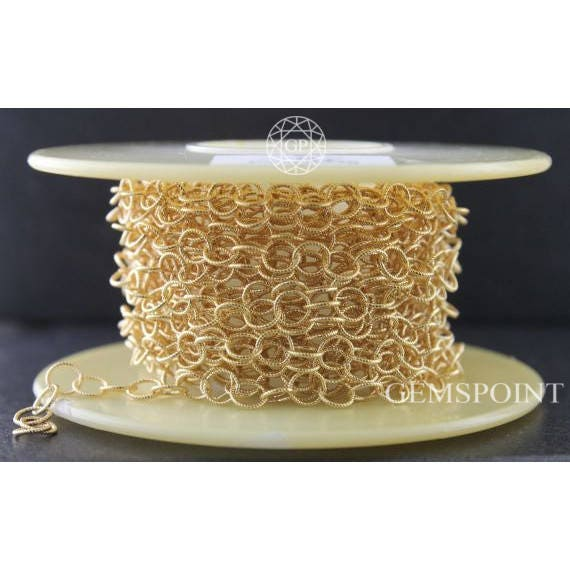 Gold Filled Twisted Wire Cable Chain 14k Gold Filled