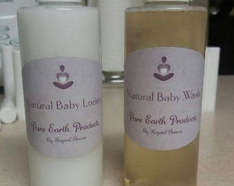 Natural Baby Lotion & Baby Wash (DEAL)