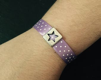 Star Ribbon charm bracelet