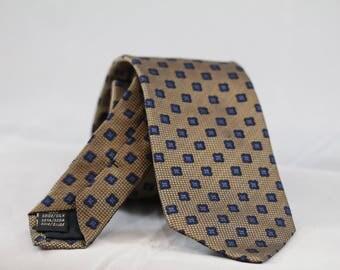 Necktie Silk 100% - 7.5 cm - Canepa tissue- ideal gift for him