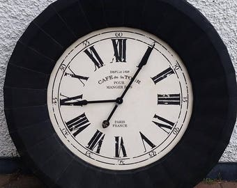 Huge metal French Style Clock