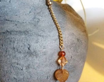 Gold chain leaf