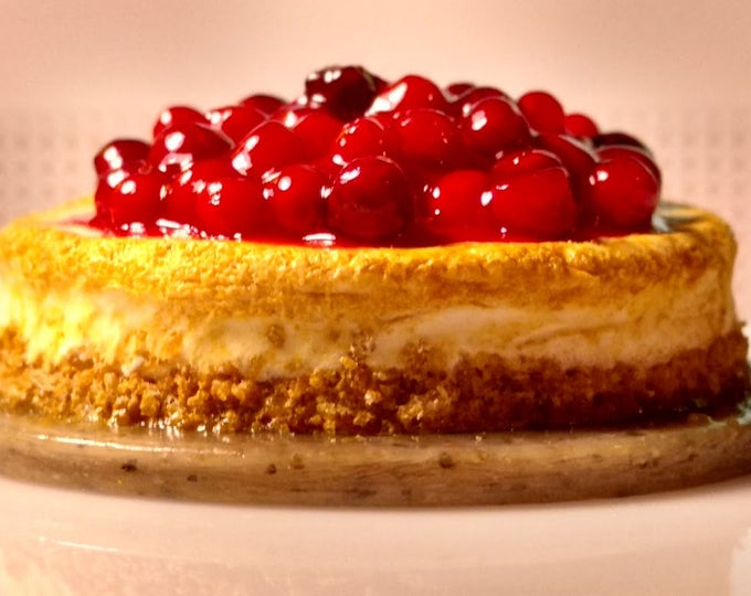 Featured listing image: Cherry Cheese Cake w/Graham Cracker Crust (Light) 1:12 Scale