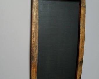 Bourbon Barrel Stave Chalk Board