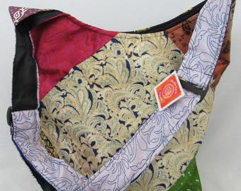 Boho bag recycled material recycled bag eco friendly gift bag