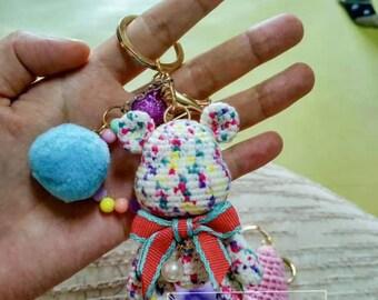 Crochet Teddy bear for girl,baby,gift