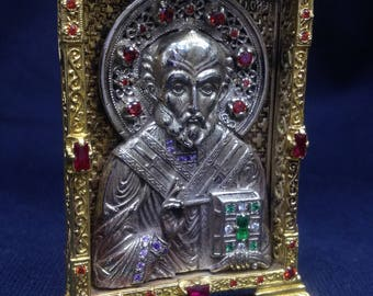 The Icon Of Nicholas The Wonderworker