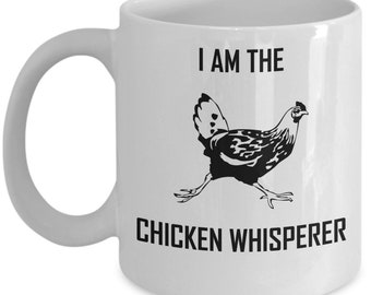 Chicken Whisperer Mug Homesteader Gift Coffee Cup