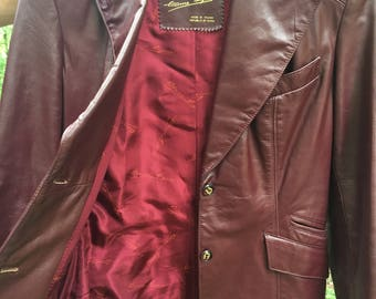 Classic Leather Etienne Aigner Jacket