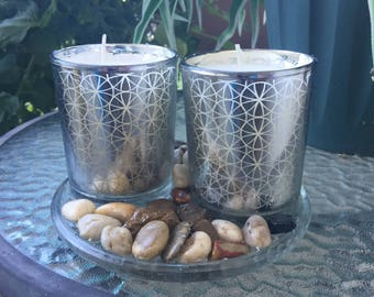 Two votive Citronella Candles